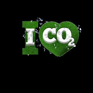 I Love co2 Klimawandel Leugner