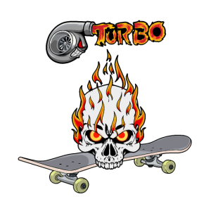 Skateboard Turbo Jugendliche