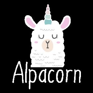 Alpacorn Alpaka Einhorn