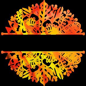 Tropische Blätter kundengerecht