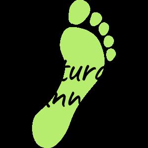 natural runners Fußabdruck 2