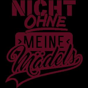 Nicht ohne Mädels (Schriftzug)