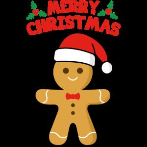 Merry Christmas Lebkuchenmann