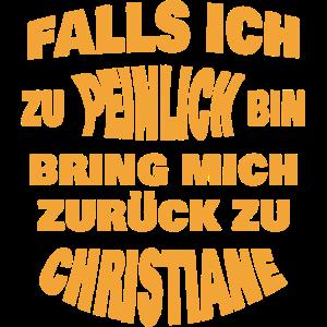 Zurueck an Christiane