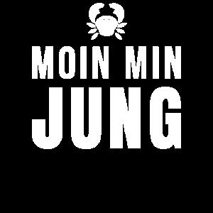 Plattdeutsch Krabbe Krebs - Moin Min Jung