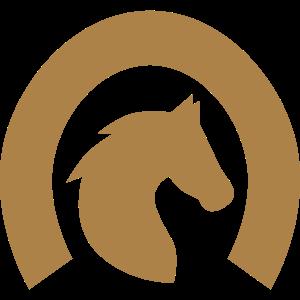 Siegel mit Pferdekopf und Hufeisen