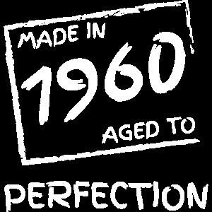 made in 1960 Geburtsjahr Jubiläumsjahr 60 Jahre