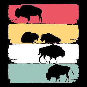 Amerikanischer Bison Zootier