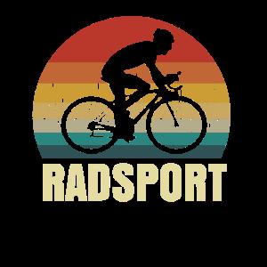 Radsport Herzschlag Retro