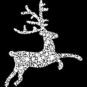 Hirsch aus Sternen, Rentier