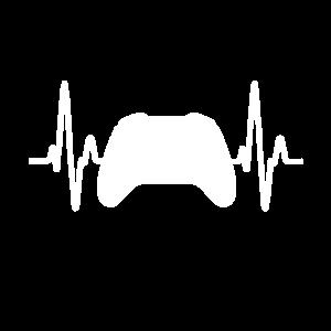 Gaming t shirt für echte Gamer Liebe als Geschenk