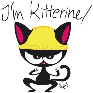 I'm Kitterine! Katze Nerd Superheld