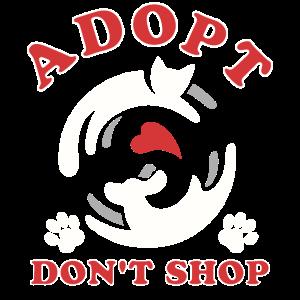 Spaß-Tierheim-Geschenk-Entwurf nehmen kaufen nicht an