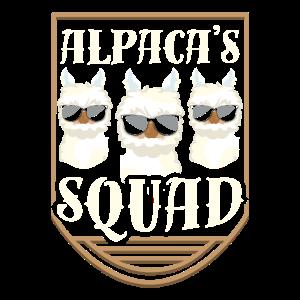 Alpaka Squad Lustig