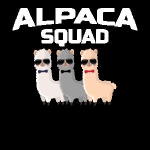 Alpaca Squad LLama Zoo Farm Animal Gift