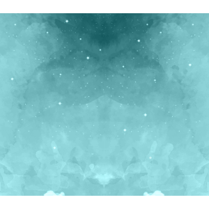 Türkis Farbiges Aquarell Muster