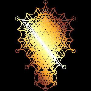 Heilige Geometrie, gebogene Bemaßungen