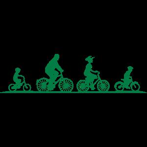 Freizeit - Radfahrer