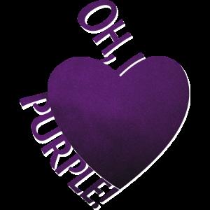 Oh, i love purple   Vicky Vale