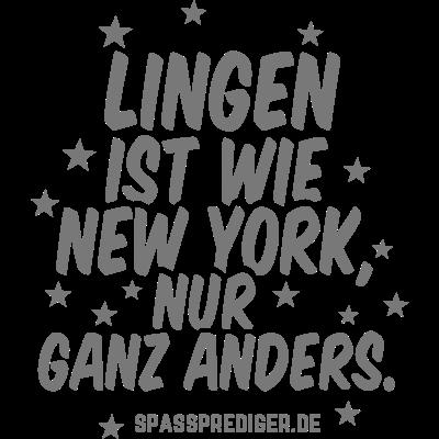 Lingen - Lingen - witzig,meine Stadt,lustiges Shirt,lustige Shirts,lustig,günstig,T-Shirts,T-Shirt,Städte,Stadt,Sprüche,Spruch,Shirts,Shirt,Region,Ort,Niedersachsen,New York,Name,Geschenkidee,Geschenk,Gemeinde,Bundesland,Aufdruck