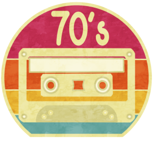 70er Jahre Musik Vintage Retro 1970s