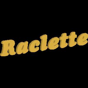 Raclette Schriftzug 3D