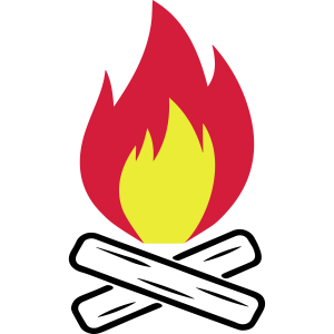 Lagerfeuer Feuer Camping Wald 3c