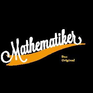 Mathematiker Schriftzug
