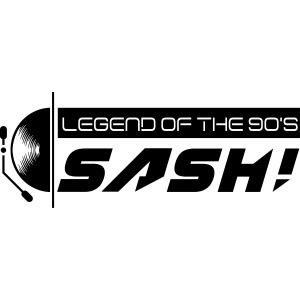 DJ SASH! Turntable 2020 Logo