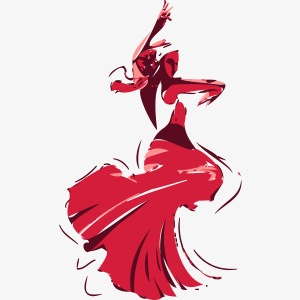 la danseuse de flamenco