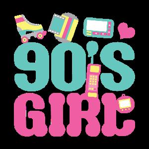 90er Mädchen