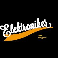 Elektroniker Schriftzug
