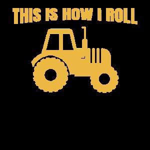 Farmer Tractor Gift Funny Farming Farm Tractor