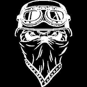 evil street monster motorrad shirt motorradhelm