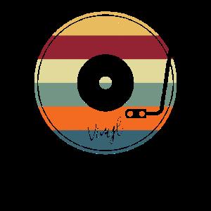 Schallplatte Vinyl - Plattenspieler DJ Geschenk