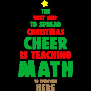 Mathe Lehrer Weihnachtsoutfit