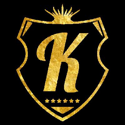 k_buchstabe_gold - k buchstabe gold - zeichen,wappen schild,textur,symbol,stylisch,sterne,stars,shield,royal,name,logo,letter,krone,king,k,golden,gold,emblem,edel,design,crown,buchstabe,anfangsbuchstabe,alphabet
