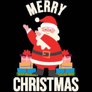 Weihnachtsmann Dabbing Dabtanz