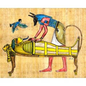PHARAO als Mumie mit Anubis