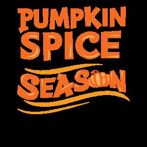Pumpkin Spice Season Kürbis Bunt Jahreszeit