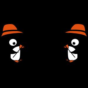 pinguine am angeln