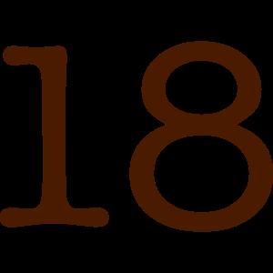 18 1860 Zahl Pelibol ™