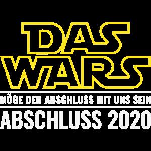 Das Wars Möge der Abschluss mit uns sein 2020
