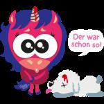 Einhorn & Hund: Der war schon so!