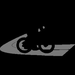 Rennrad Rennradfahrer auf Strasse
