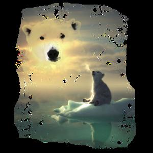 Bär,Bären,Eisbär,Tier,Tiere,Nordpol,Südpol,Fantasy