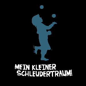 Kleiner Schleuder-Traum Ball-Jonglage Jongleur