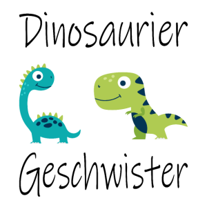 Dinosaurier Geschwister