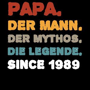Papa Vater 30.Geburtstag 30 Jahre Geschenk