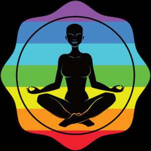 Yoga Meditation Regenbogen LGBT Ruhe Frieden